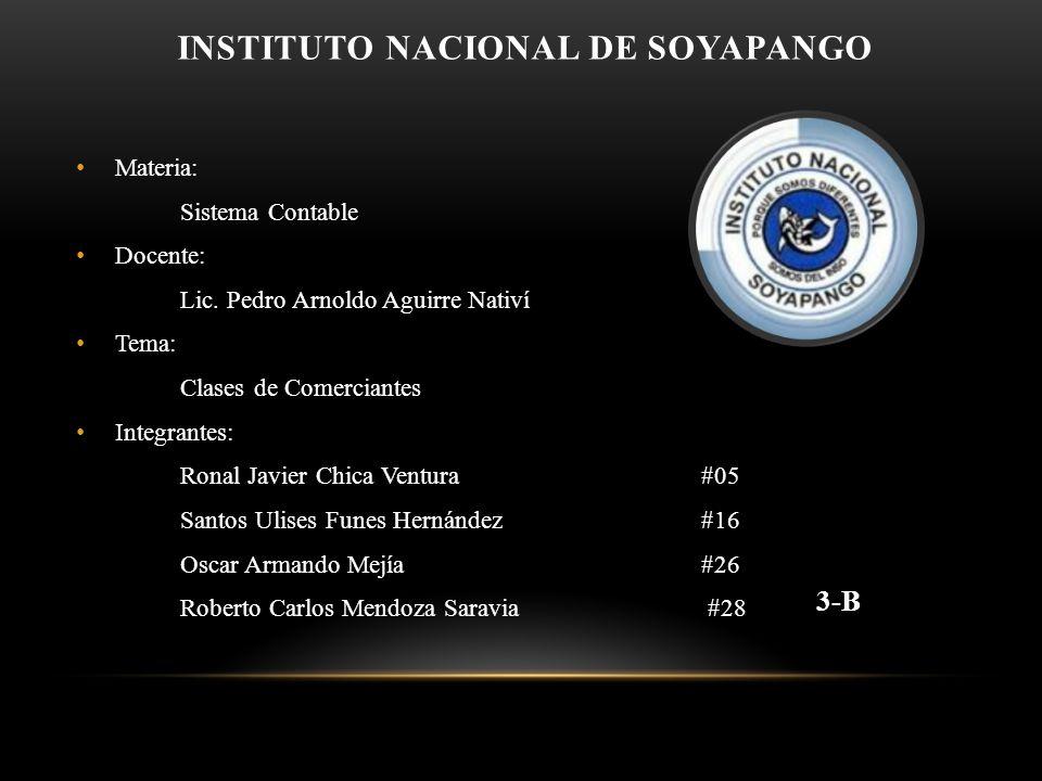 INSTITUTO NACIONAL DE SOYAPANGO