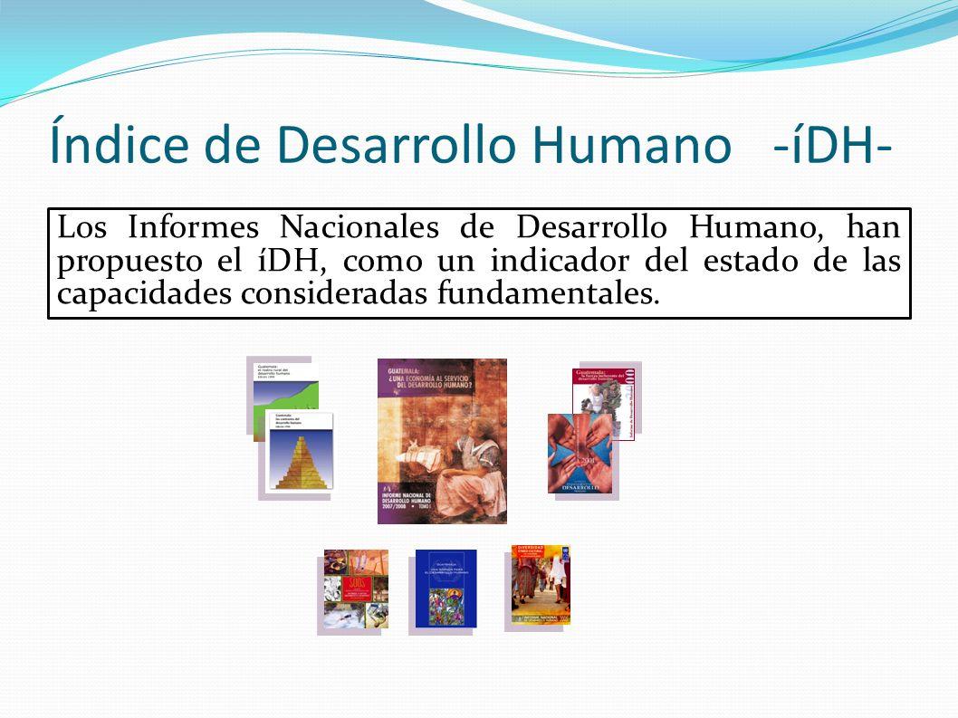 Índice de Desarrollo Humano -íDH-