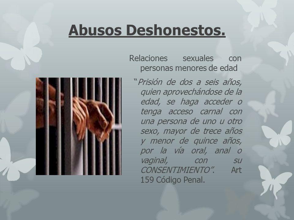 Abusos Deshonestos.