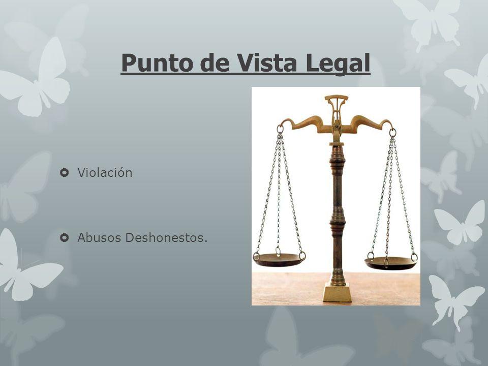 Punto de Vista Legal Violación Abusos Deshonestos.