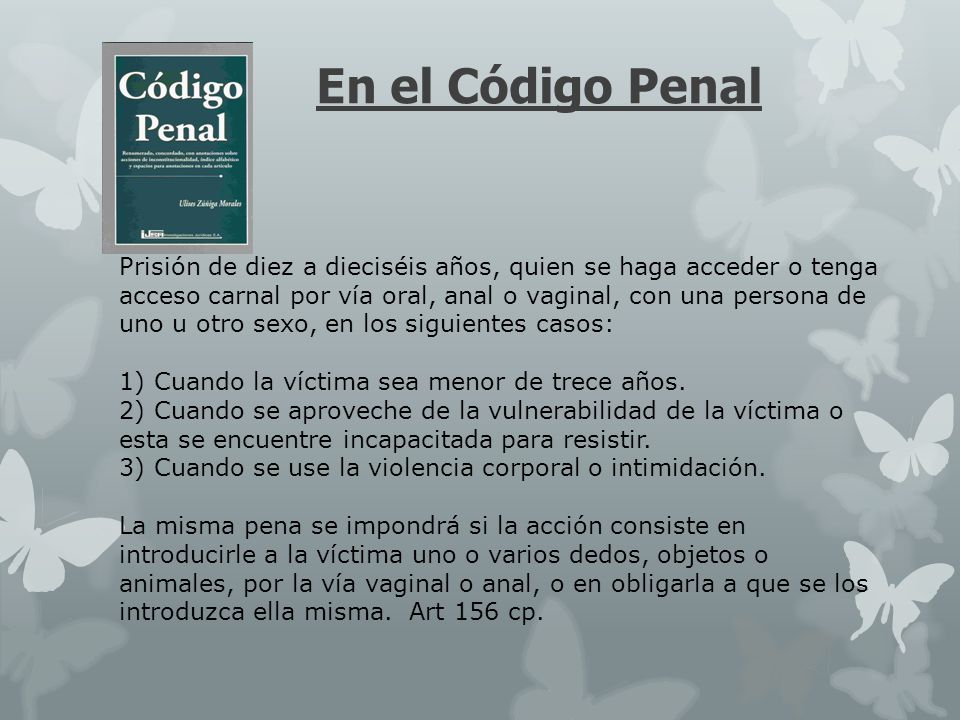 En el Código Penal