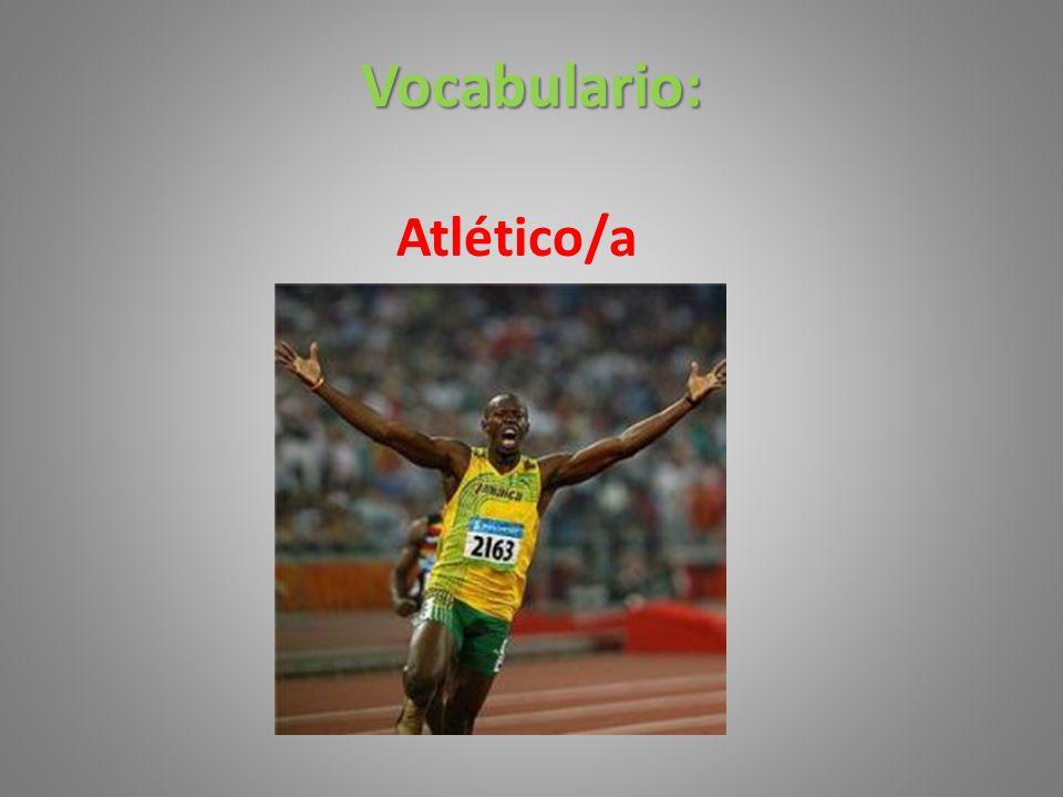 Vocabulario: Atlético/a