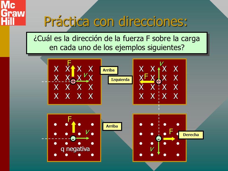 Práctica con direcciones:
