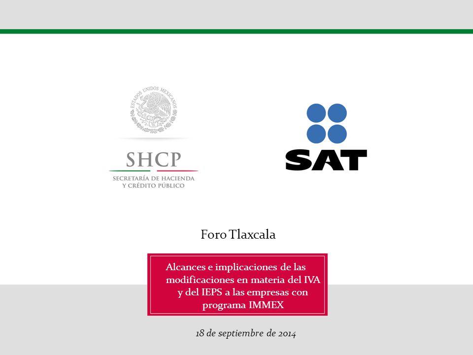 Esquema de Certificación en materia de IVA y IEPS