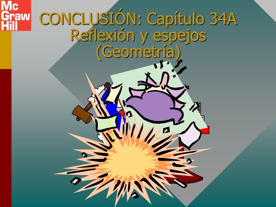 CONCLUSIÓN: Capítulo 34A Reflexión y espejos (Geometría)