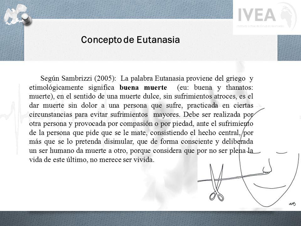 Concepto de Eutanasia