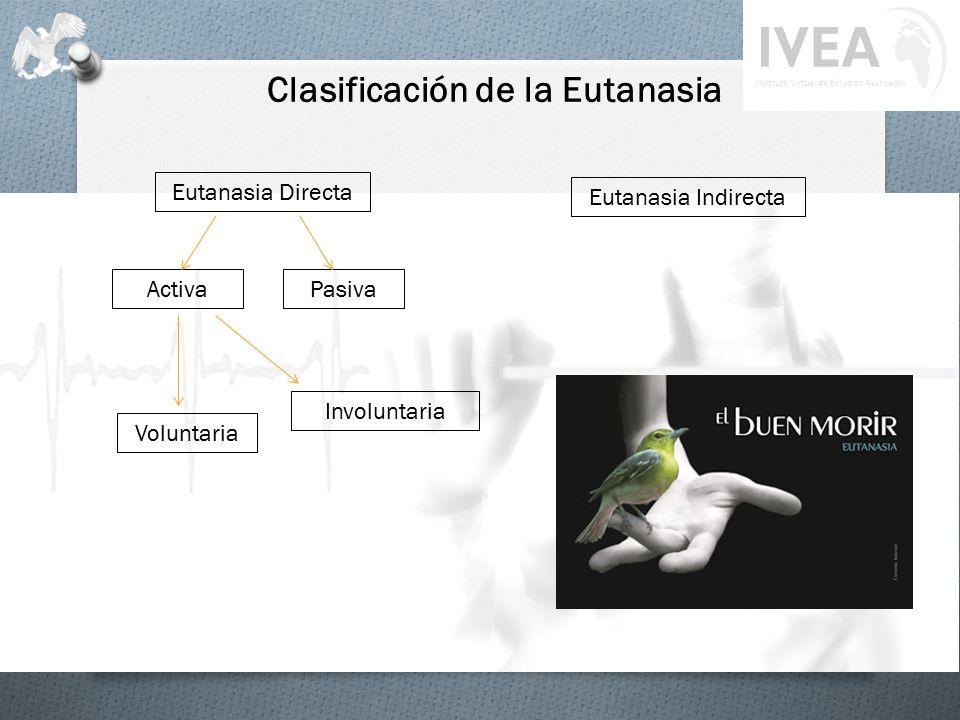 Clasificación de la Eutanasia