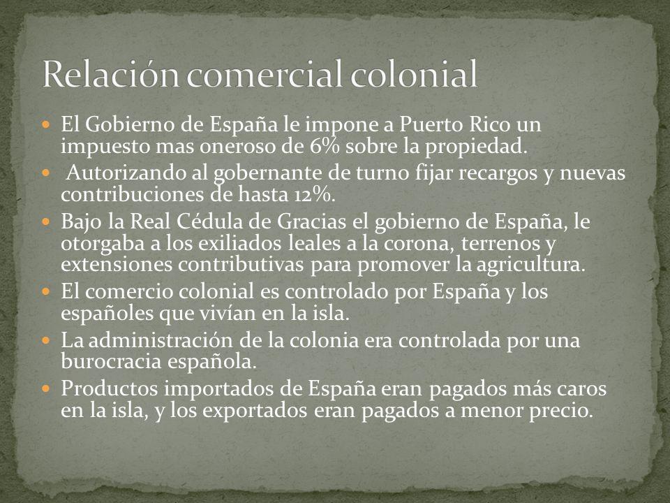 Relación comercial colonial