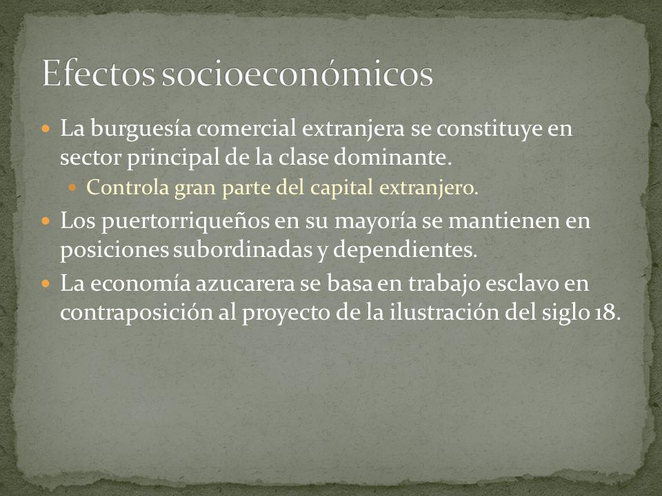 Efectos socioeconómicos