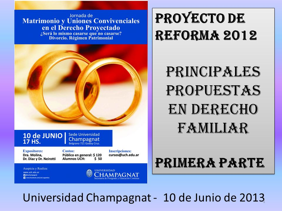 Universidad Champagnat - 10 de Junio de 2013