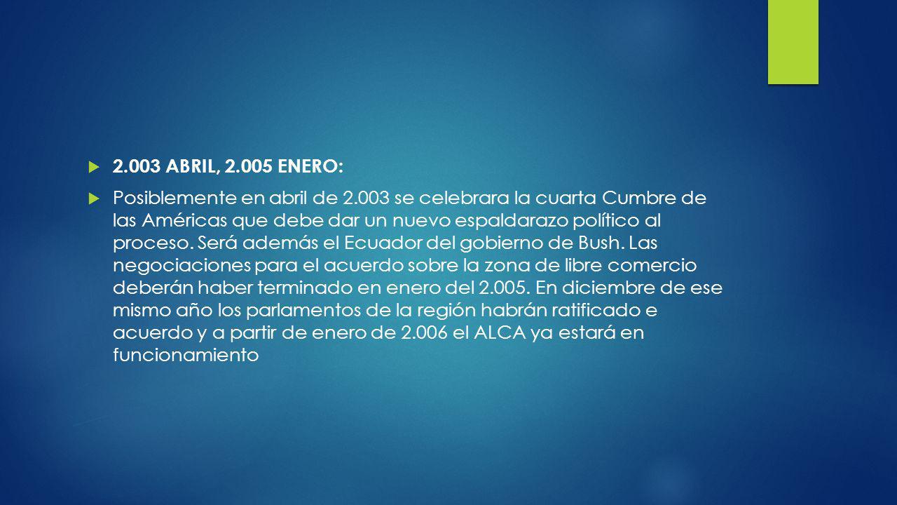 2.003 ABRIL, 2.005 ENERO: