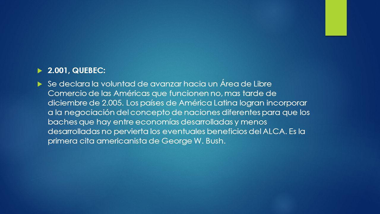 2.001, QUEBEC: