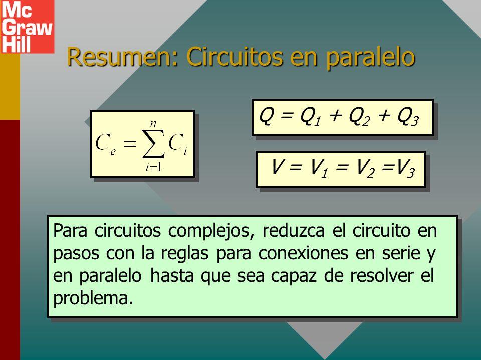 Resumen: Circuitos en paralelo