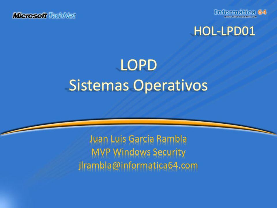 LOPD Sistemas Operativos