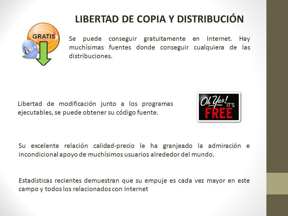 LIBERTAD DE COPIA Y DISTRIBUCIÓN