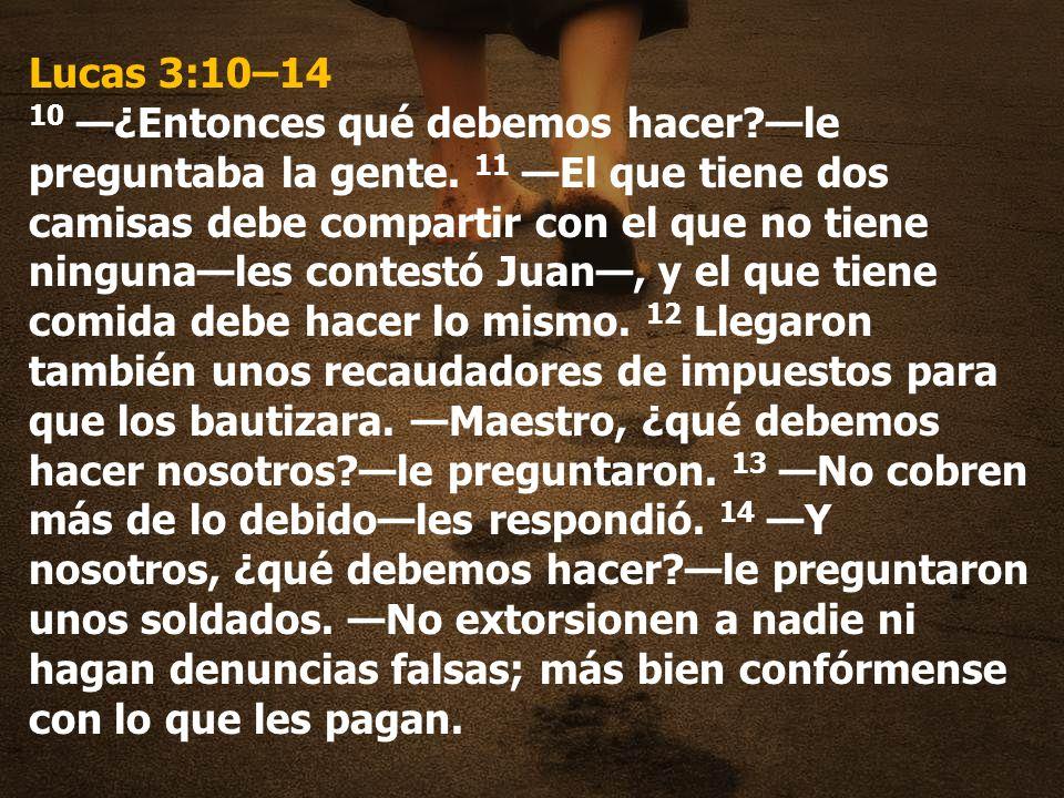 Lucas 3:10–14