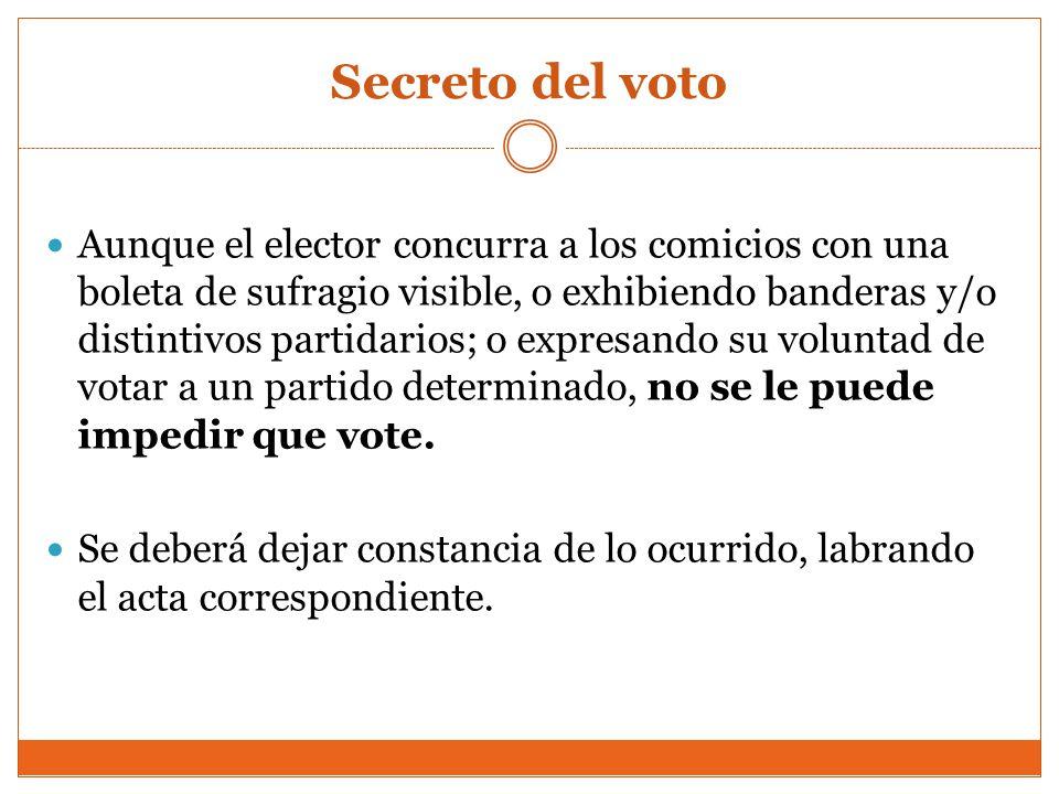 Secreto del voto