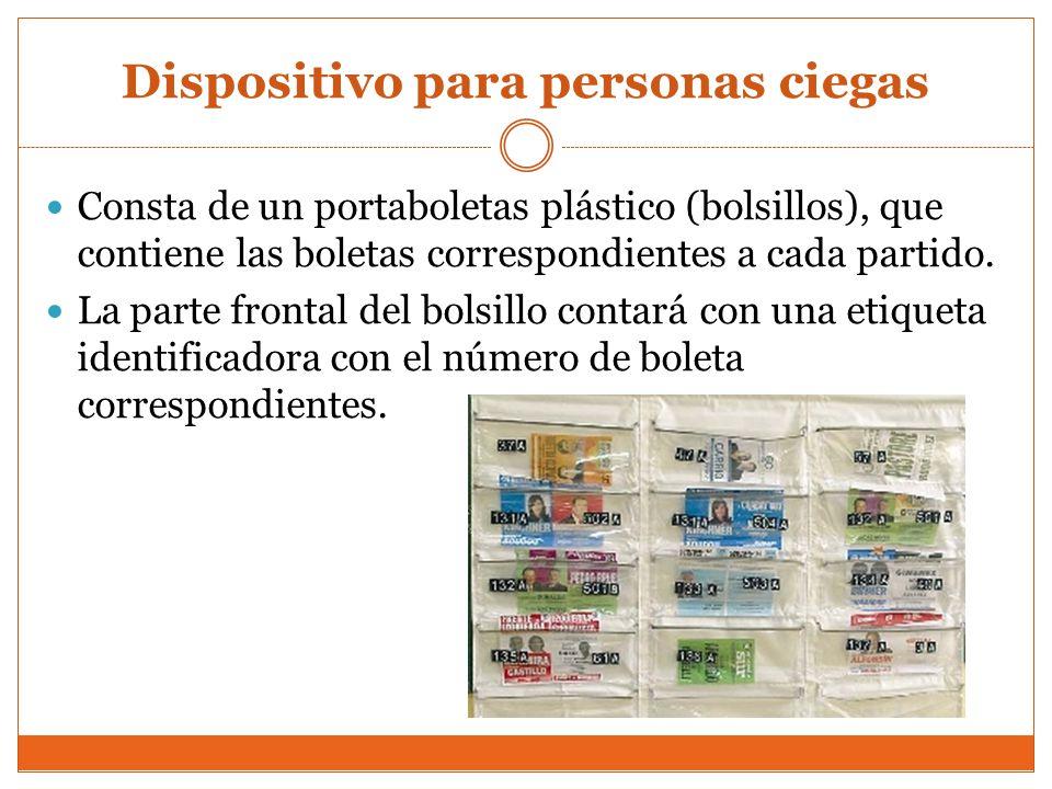 Dispositivo para personas ciegas
