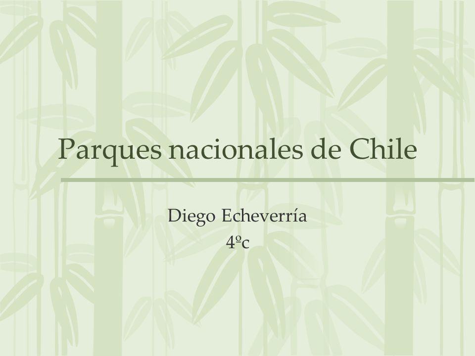 Parques nacionales de Chile