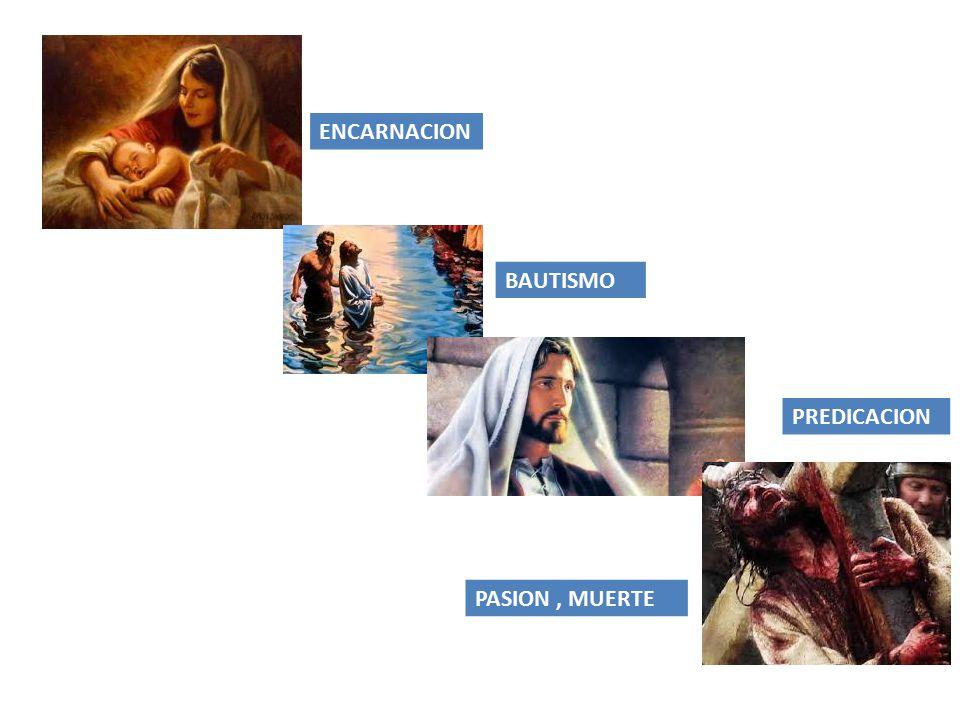 ENCARNACION BAUTISMO PREDICACION PASION , MUERTE