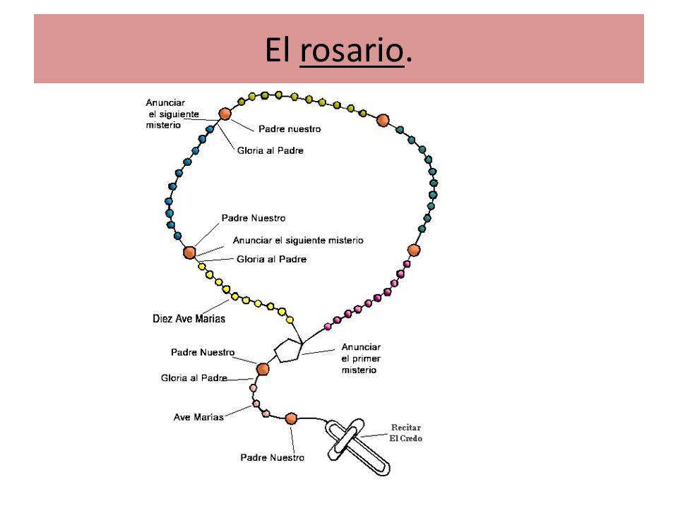 El rosario.