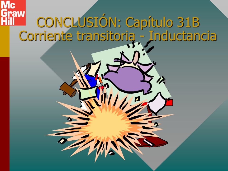 CONCLUSIÓN: Capítulo 31B Corriente transitoria - Inductancia