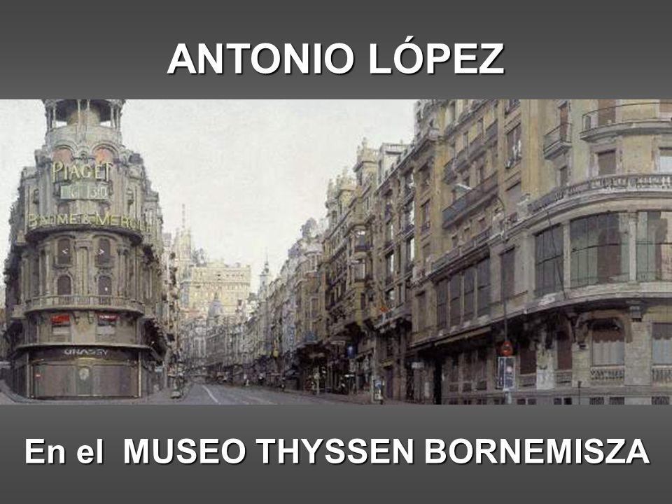 En el MUSEO THYSSEN BORNEMISZA
