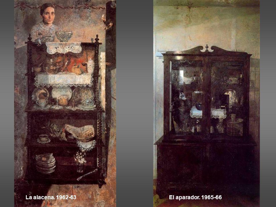 La alacena. 1962-63 El aparador. 1965-66