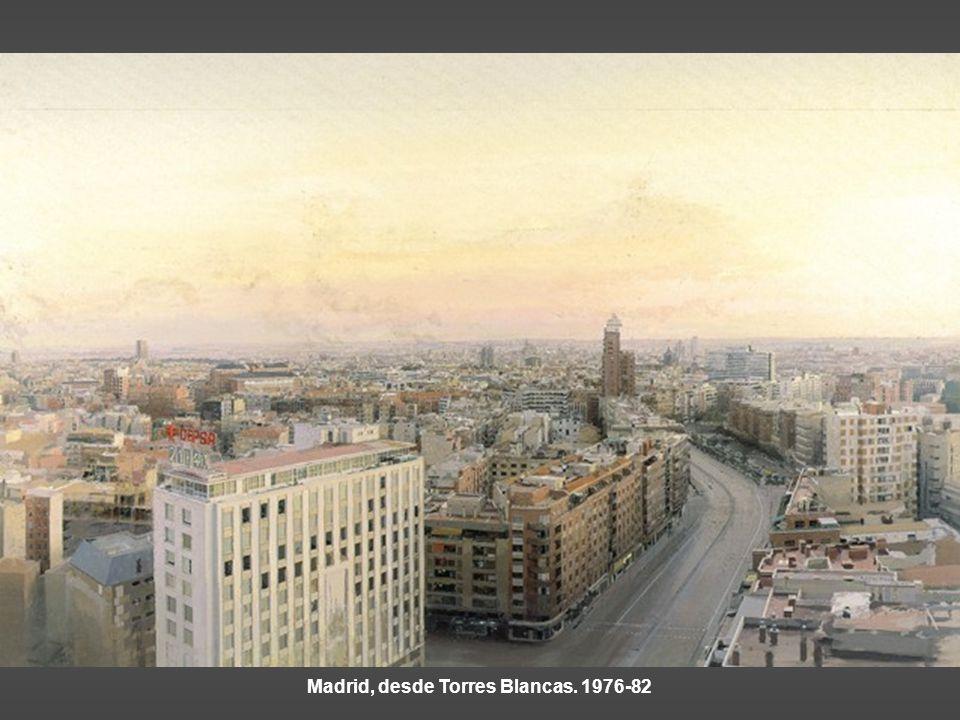 Madrid, desde Torres Blancas. 1976-82