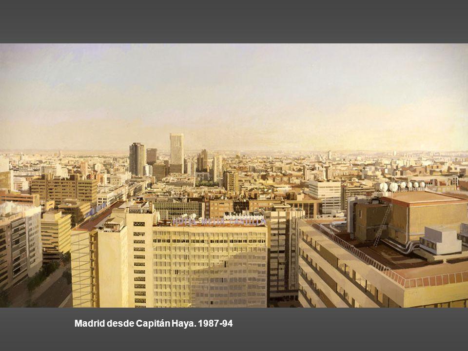 Madrid desde Capitán Haya. 1987-94