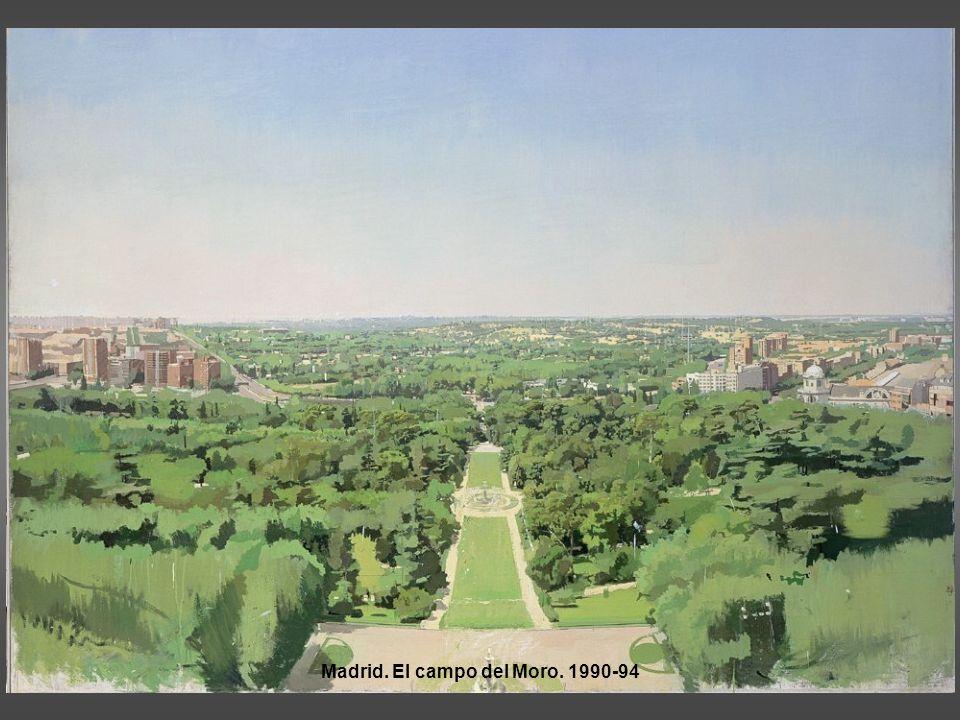 Madrid. El campo del Moro. 1990-94