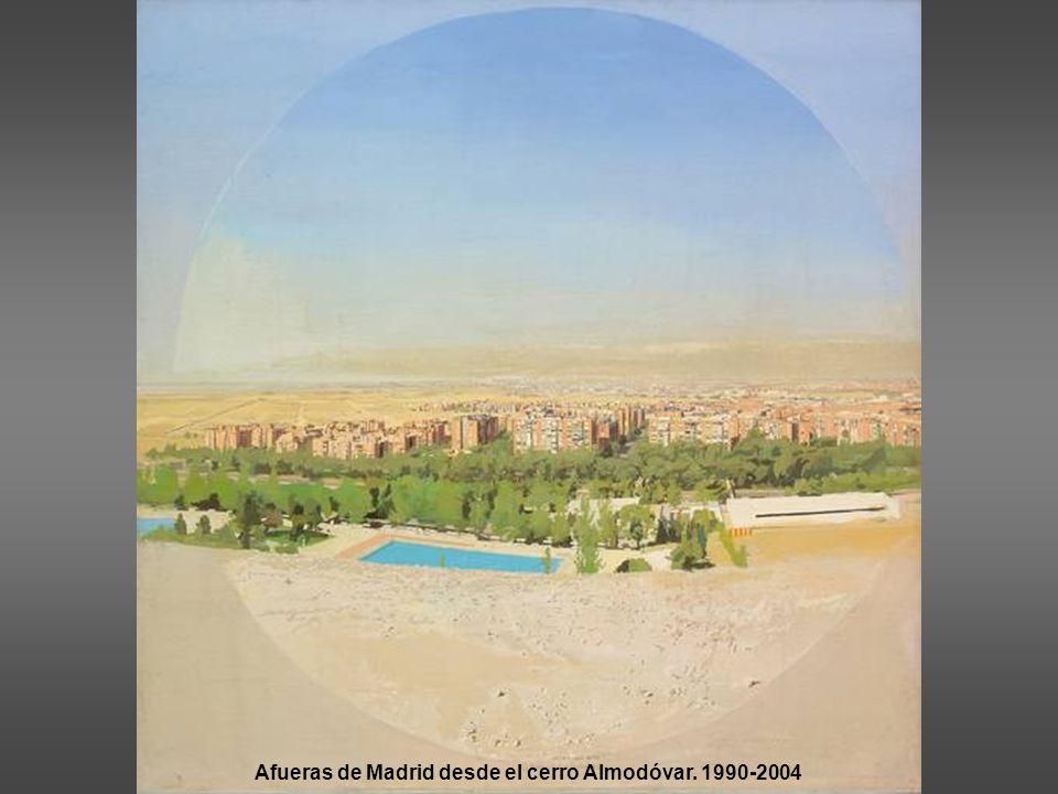 Afueras de Madrid desde el cerro Almodóvar. 1990-2004
