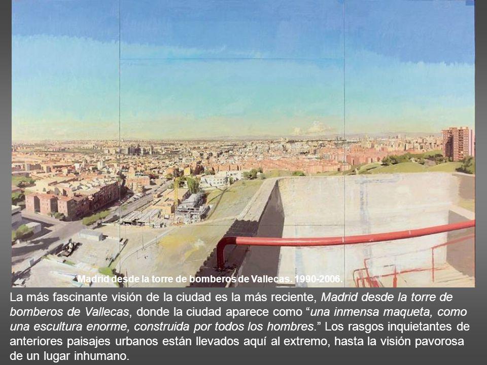 Madrid desde la torre de bomberos de Vallecas. 1990-2006.