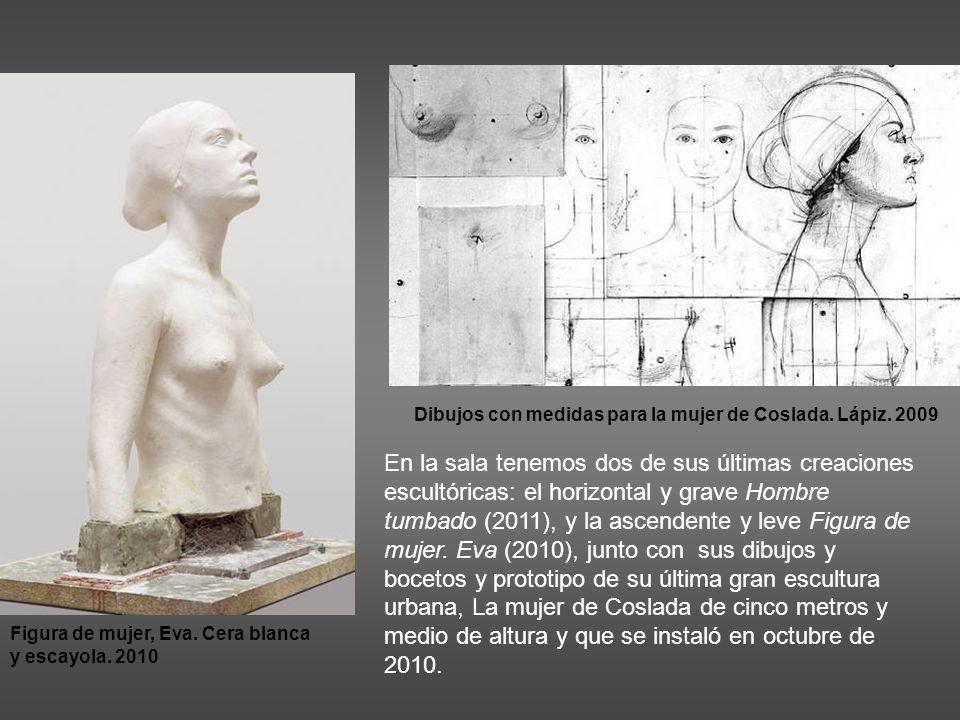 Dibujos con medidas para la mujer de Coslada. Lápiz. 2009