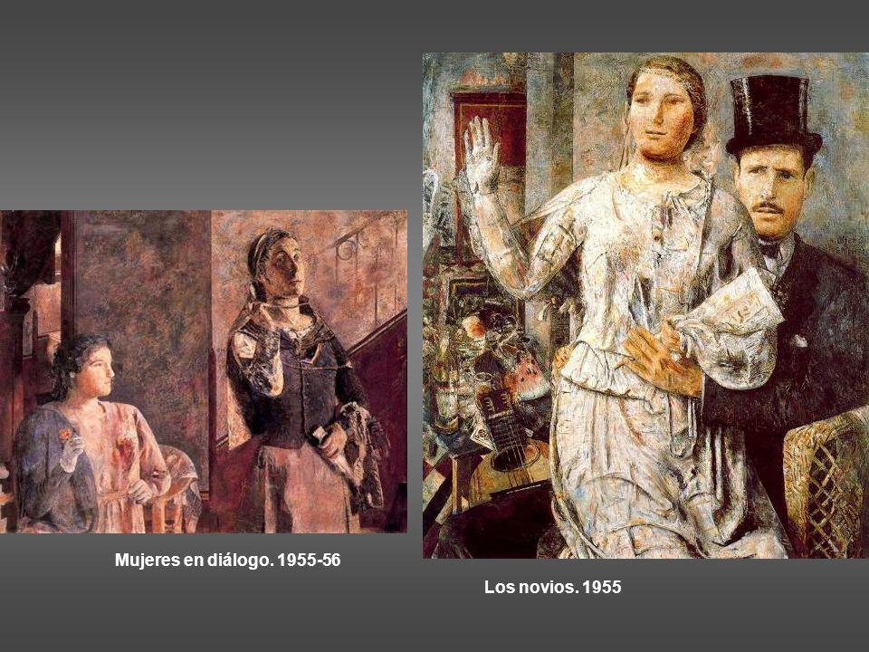 Mujeres en diálogo. 1955-56 Los novios. 1955