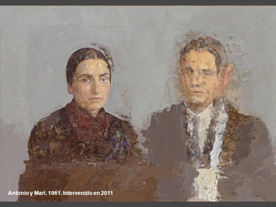 Antonio y Mari. 1961. Intervenido en 2011