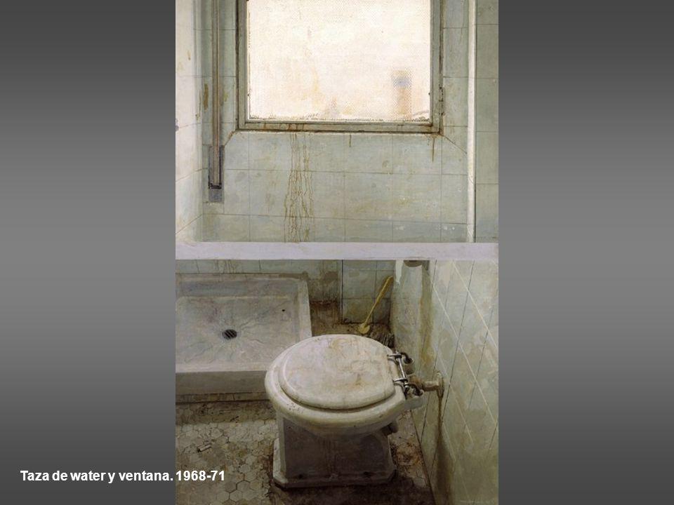 Taza de water y ventana. 1968-71