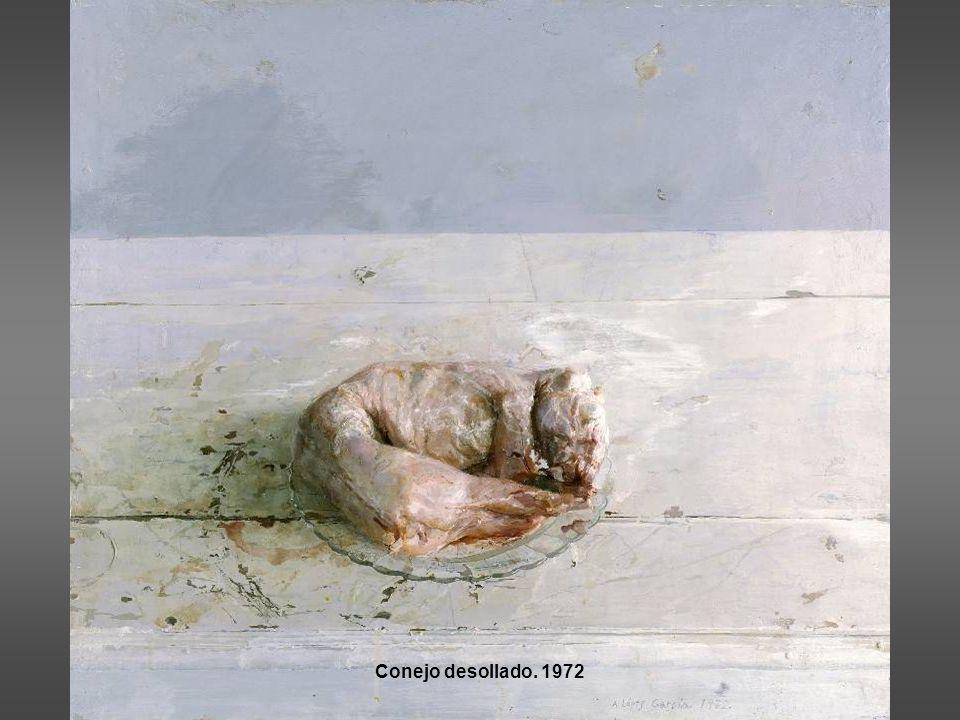Conejo desollado. 1972