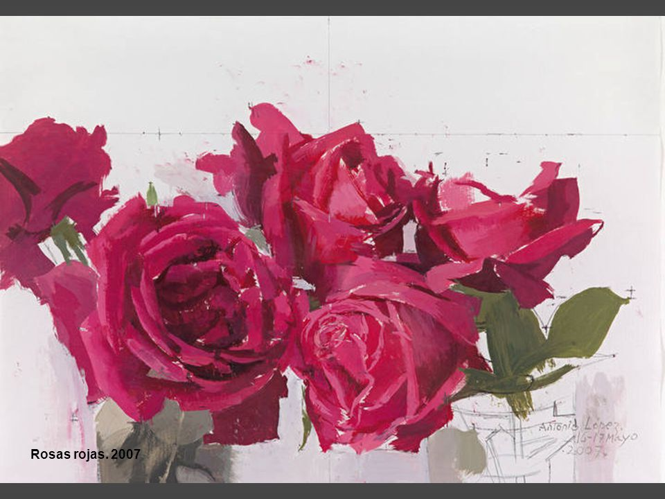 Rosas rojas. 2007