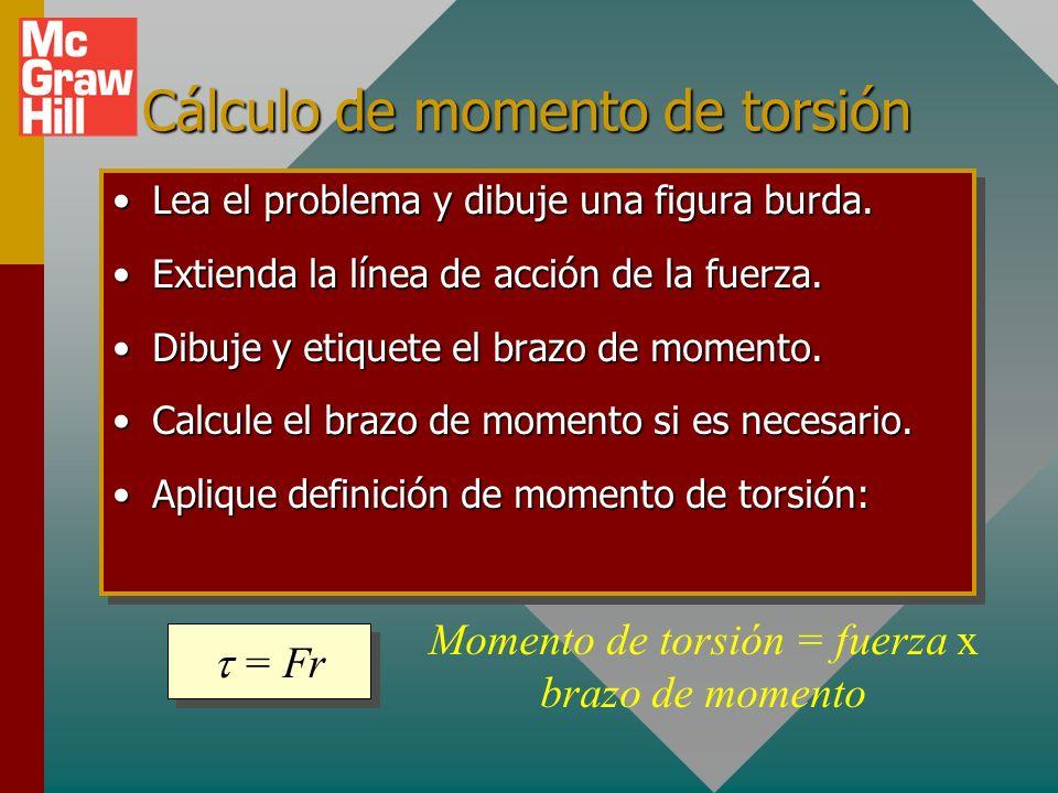 Cálculo de momento de torsión