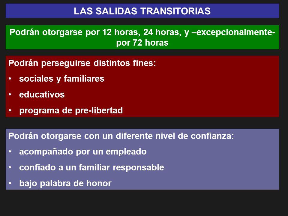 LAS SALIDAS TRANSITORIAS