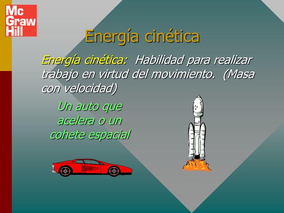 Un auto que acelera o un cohete espacial