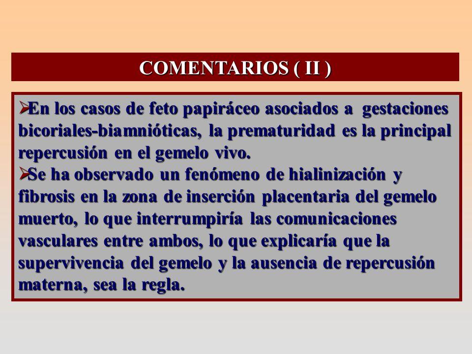 COMENTARIOS ( III )