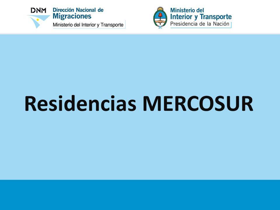 Residencias MERCOSUR
