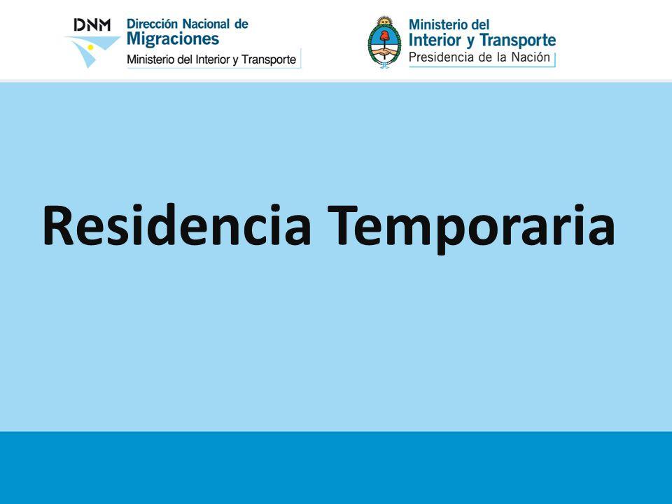 Residencia Temporaria