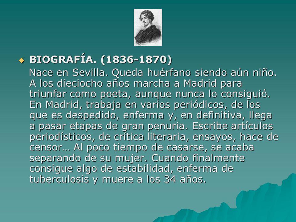 BIOGRAFÍA. (1836-1870)