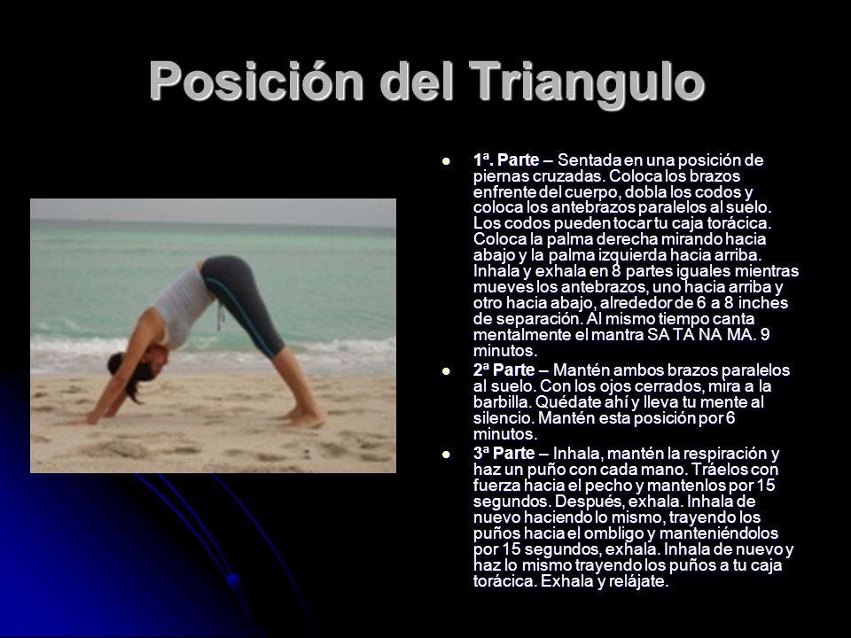 Posición del Triangulo