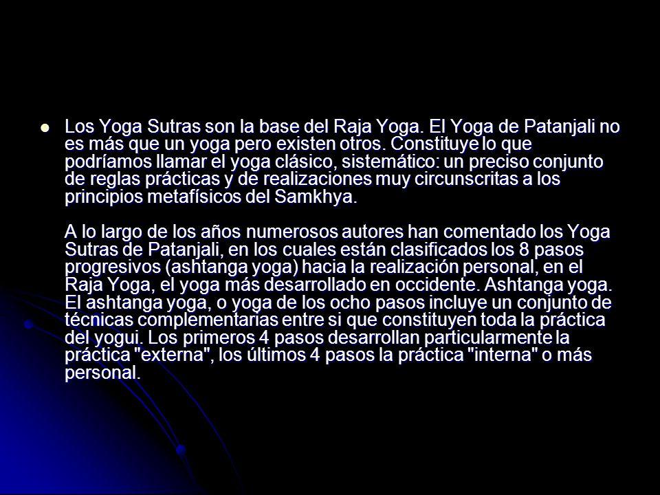 Los Yoga Sutras son la base del Raja Yoga