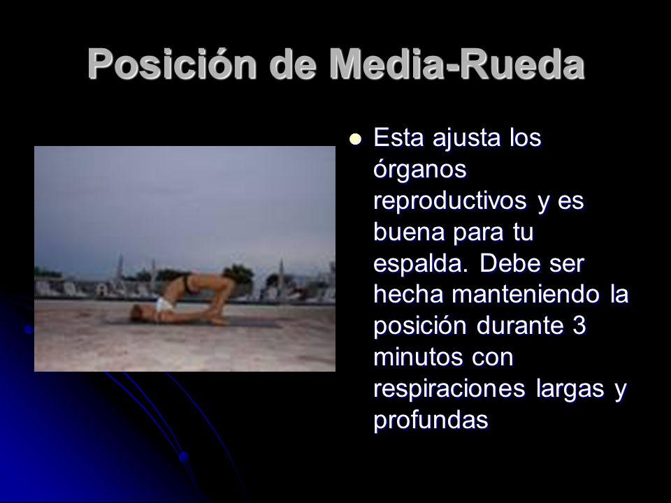Posición de Media-Rueda