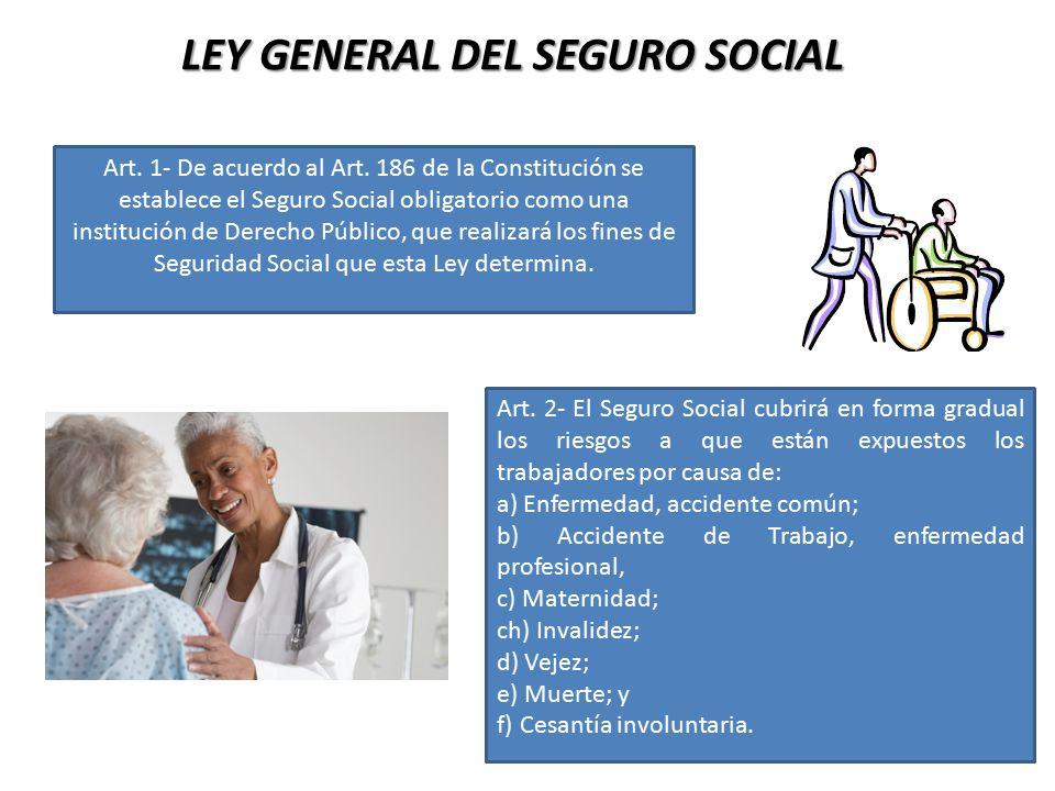 LEY GENERAL DEL SEGURO SOCIAL
